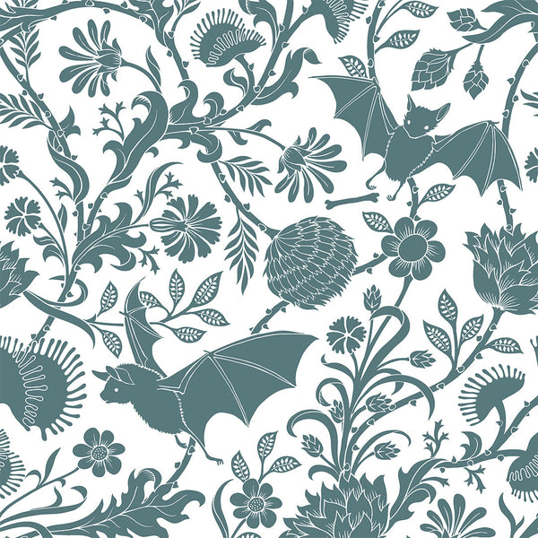 Elysian Fields Shower Curtain - Blue