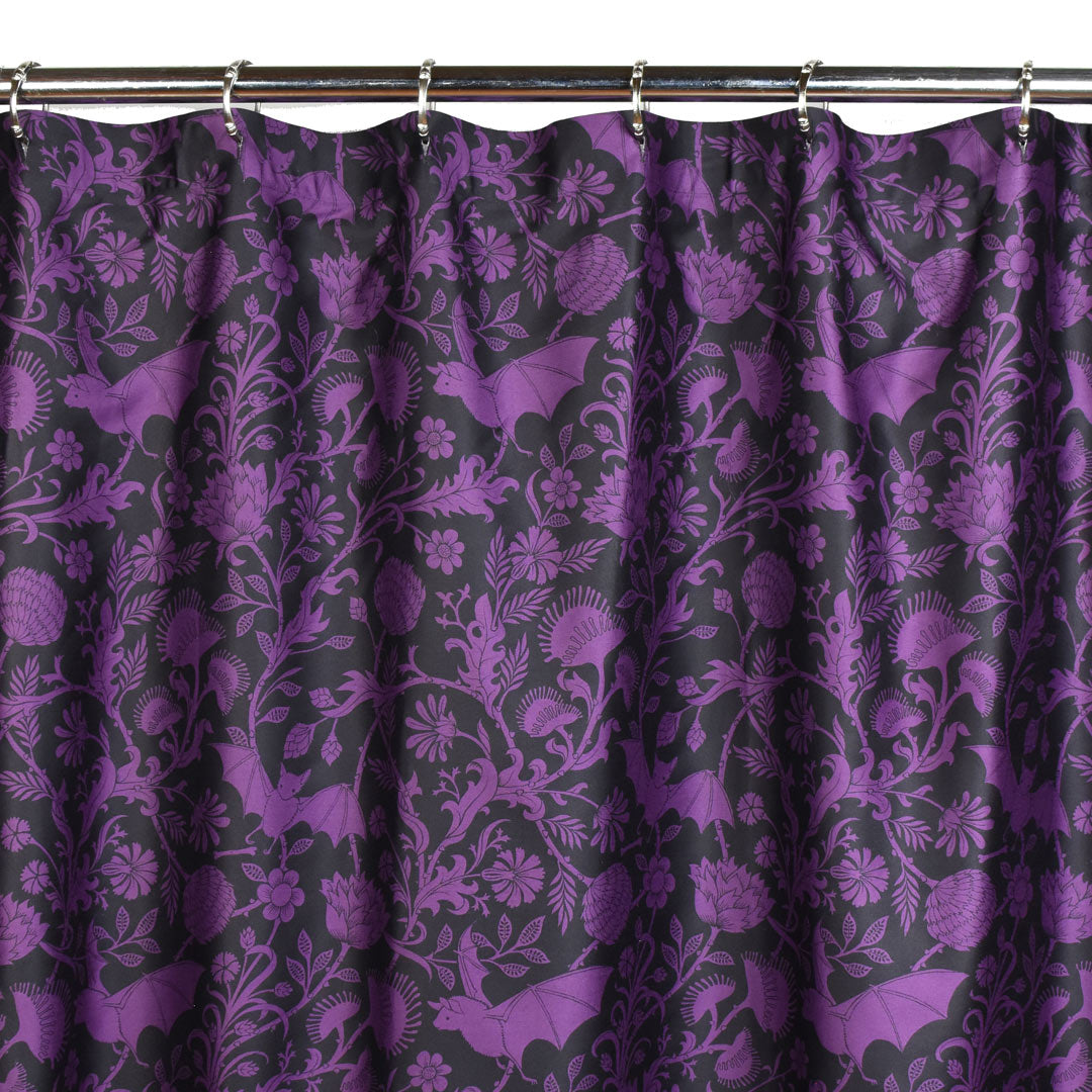 Elysian Fields Shower Curtain - Purple
