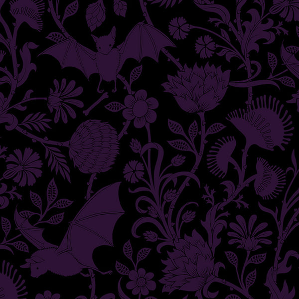 Elysian Fields Curtains and Valances - Purple