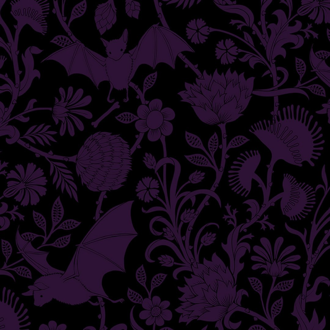 Elysian Fields Purple Dinner Napkins