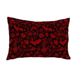 Scarlet Bat Pillow Cases and Shams