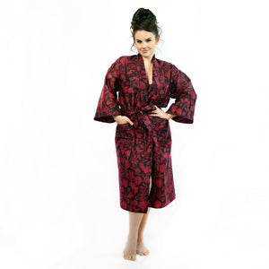 Scarlet Elysian Fields Robe