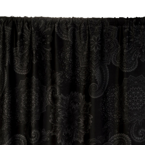 Midnight Ink Curtains and Valances - by Sin in Linen