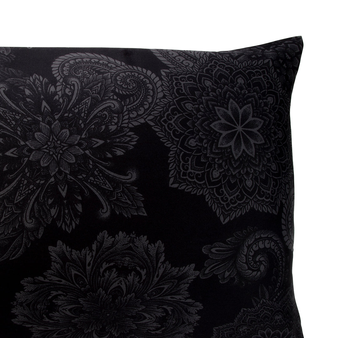 Midnight Ink Pillow Cases and Shams - by Sin in Linen