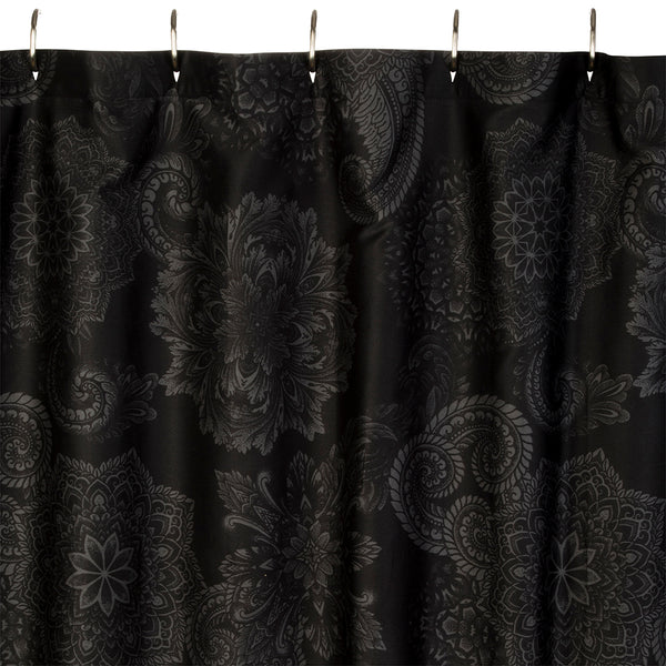 Midnight Ink Shower Curtain
