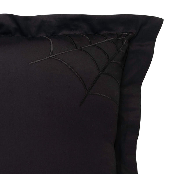 Black Widow Pillow Shams