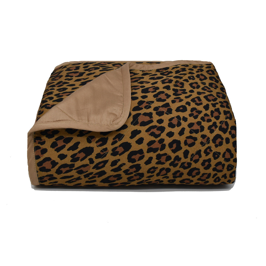 Wild Side Leopard Throw Blanket