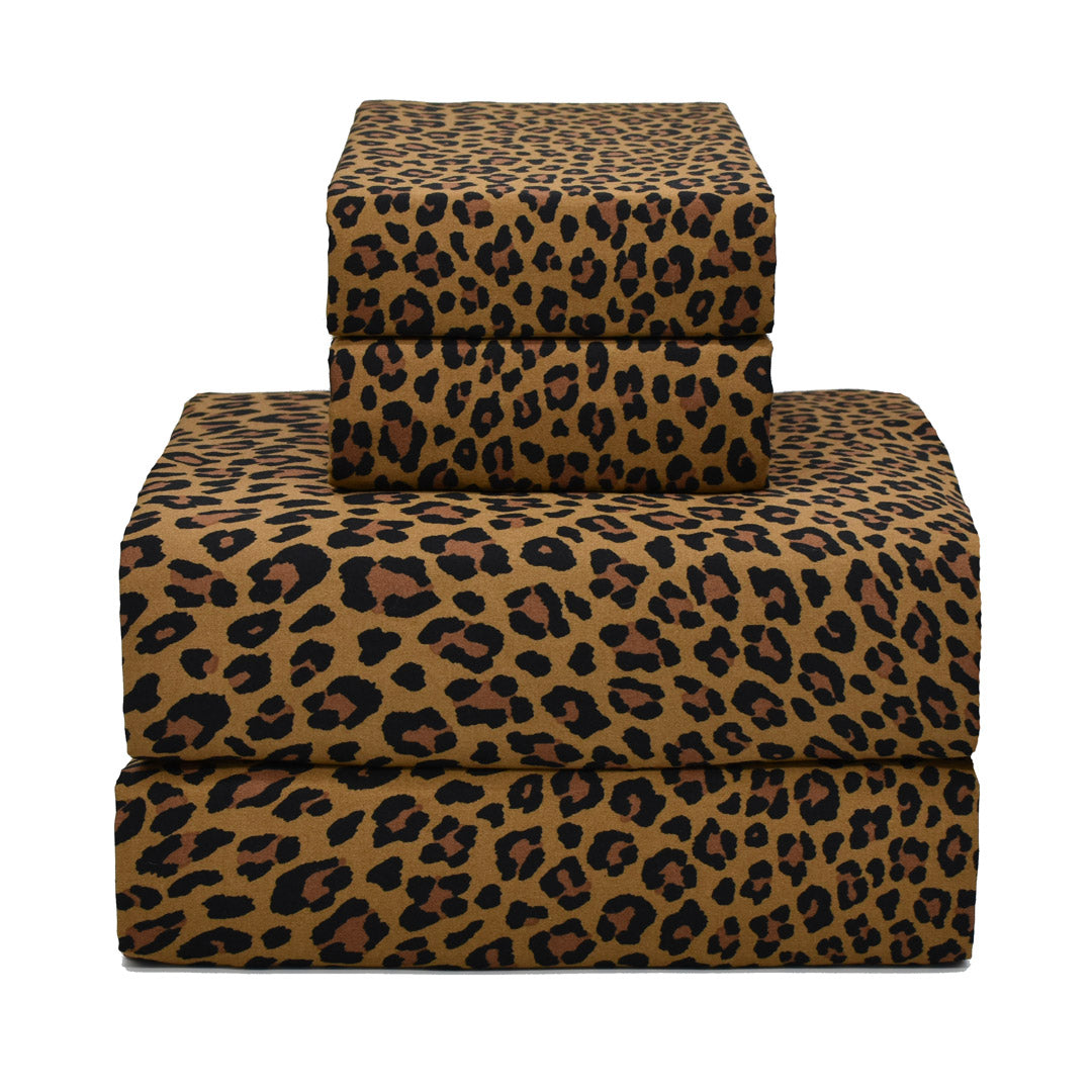 Wild Side Leopard Sheets