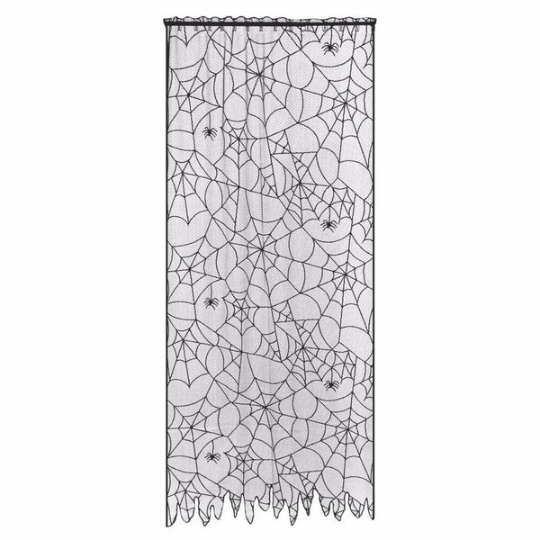 Spider Web Lace Curtain Panel