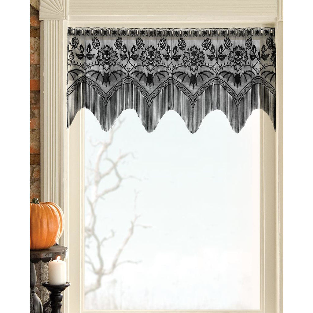 panels lace arbor home valances and pin curtain valance curtains wisteria