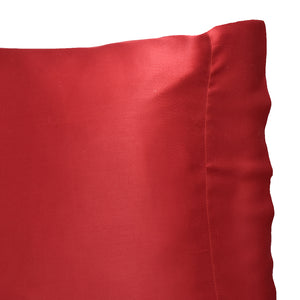 Scarlet Bamboo Pillow Cases & Shams