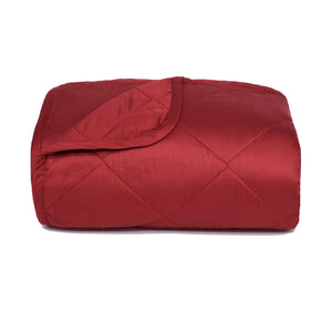 Scarlet Bamboo Throw Blanket