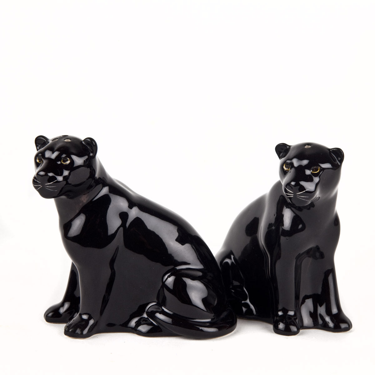 Panther Salt and Pepper Shakers