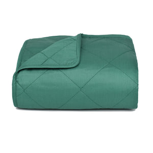 Green Throw Blanket