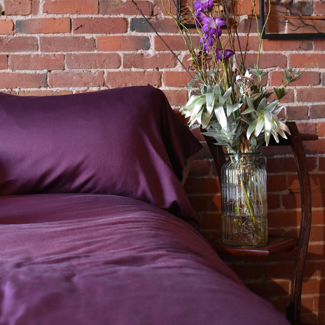 Plum Pillow Cases