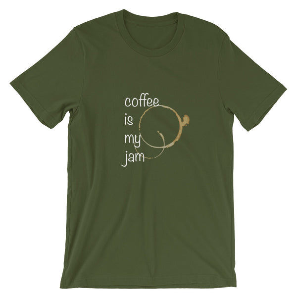 Coffee is my jam unisex t-shirt