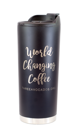 World Changing Coffee Tumbler (16oz)