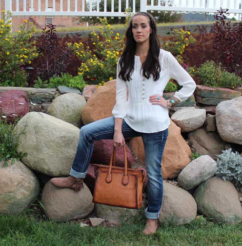 Whimsy Boutique Philipsburg Montana Full Outfit and Accessories
