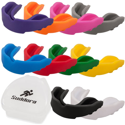 Multiple Colour Mouth Guards with Case