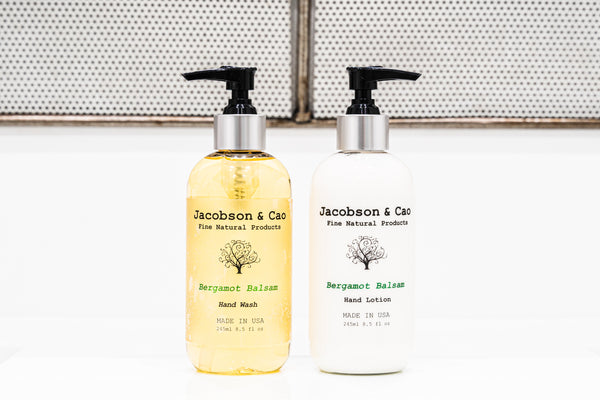 <h4>Best Sellers</h4>Bergamot Balsam Hand Wash/ Hand Lotion Set