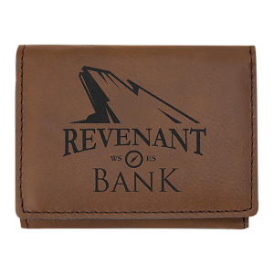 Leatherette Trifold Wallet
