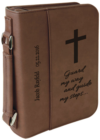 Book/Bible Cover with Zipper