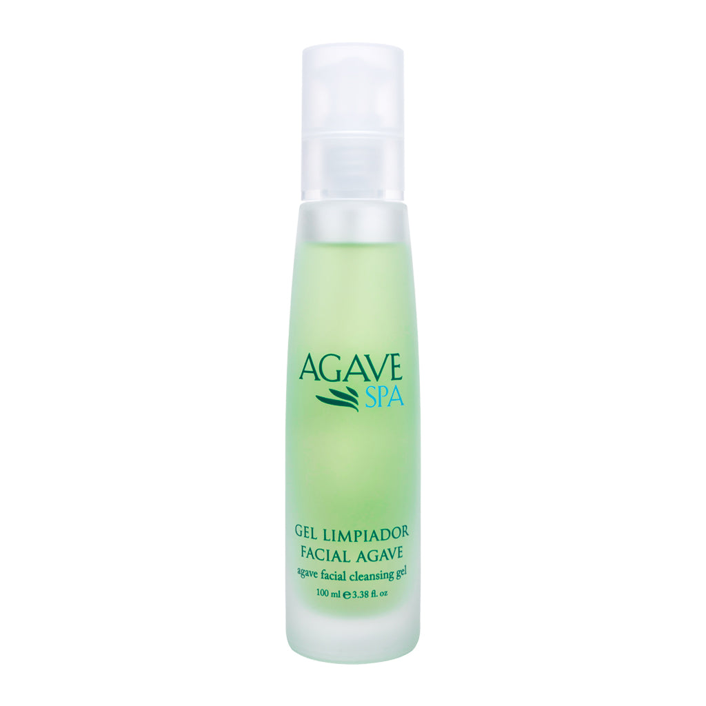 GEL LIMPIADOR FACIAL AGAVE •  100 ml