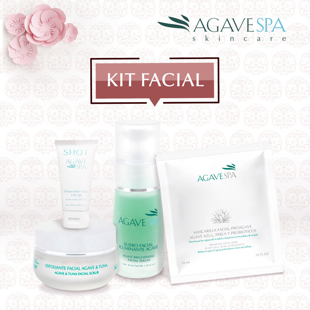 Kit Facial AgaveSpa