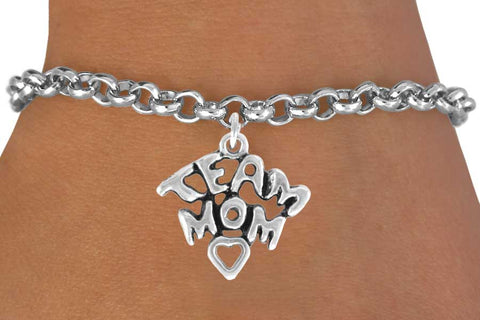 "BRACELET ""TEAM MOM"" ON CHAIN"