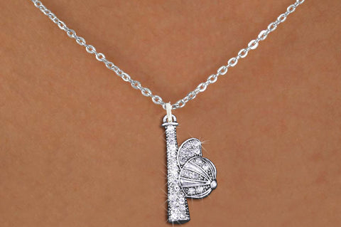 BASEBALL/SOFTBALL NECKLACE ANTIQUED BAT AND CAP WITH CLEAR CRYSTALS