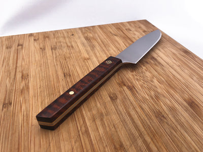 tiger striped sky steak knife