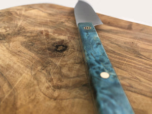 stormy sky steak knife on side