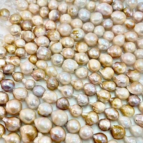 Pearls - Large Hole, Baroque, Mixed size/colors