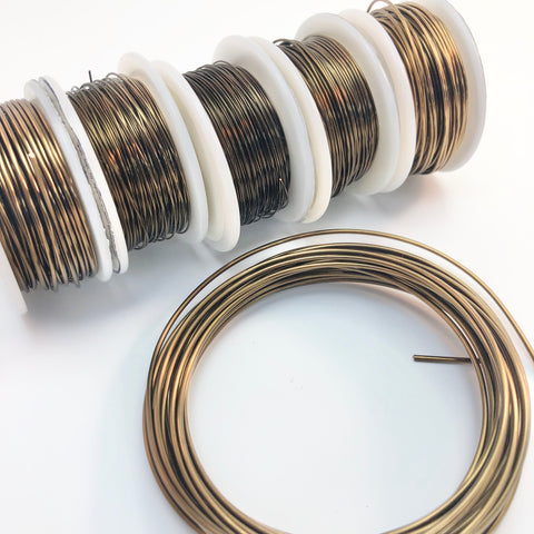 Craft Wire - Vintage Bronze, Tarnish Resistant