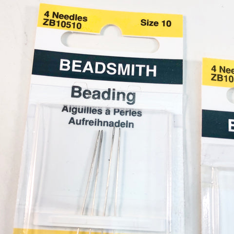 Beading Needles - English