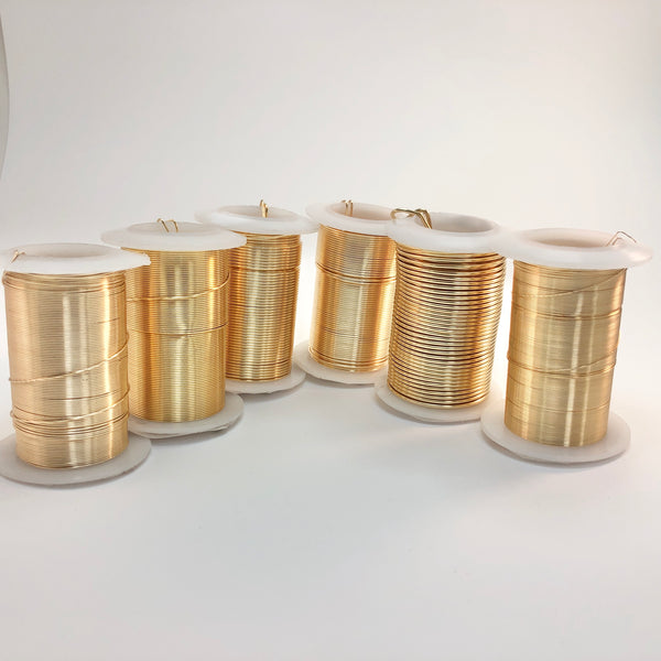 Craft Wire - Gold, Non-Tarnish