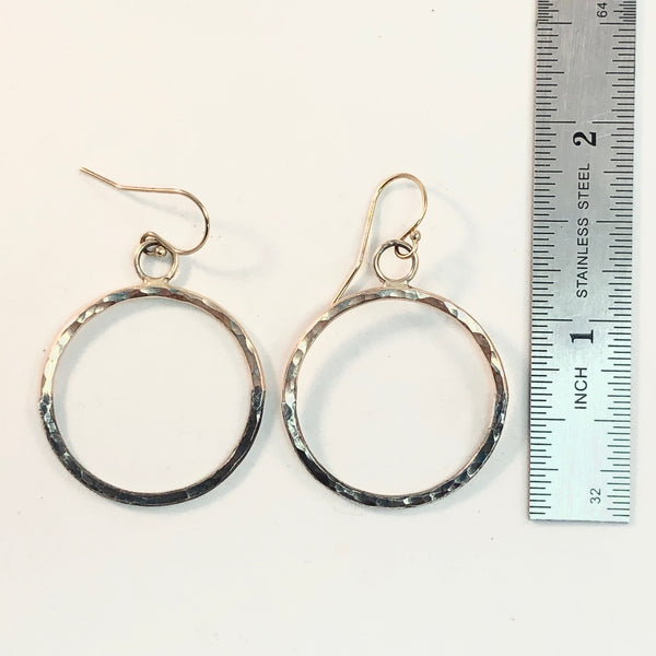 a3     Soldering: Mixed Metal: Gold + Silver Hoops: Saturday February 1, 2020 @ 1:30 - 4 pm