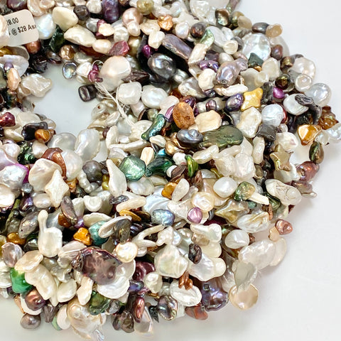 Keishi Pearls - Mixed Strand