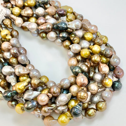 Baroque Pearls - Mixed Colors