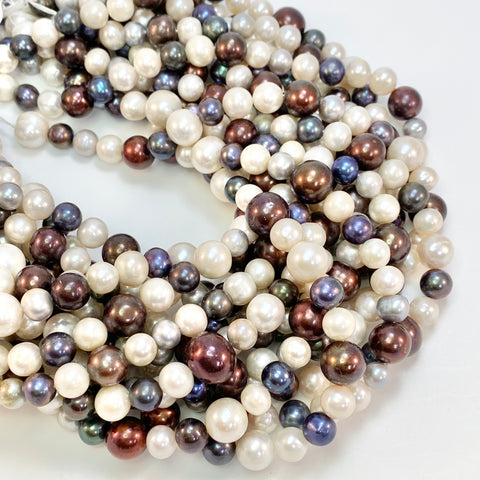 Mixed Color Strand - Freshwater Pearls