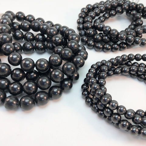 Shungite - Stretch Bracelets
