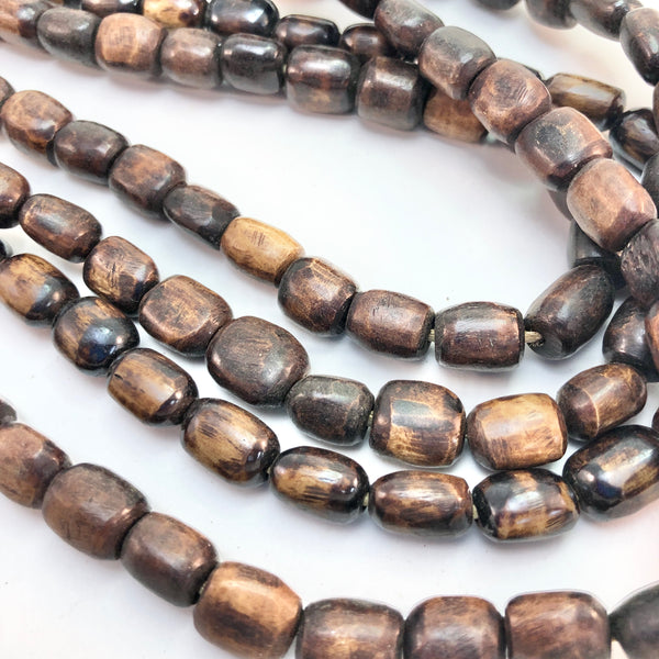 African Trade Bead - Brown Buffalo Bone