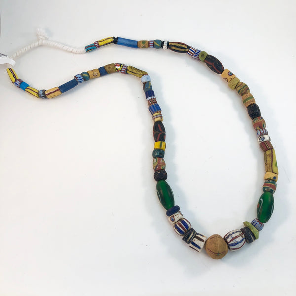 African Trade Beads - Old Beads - Mixed Strand