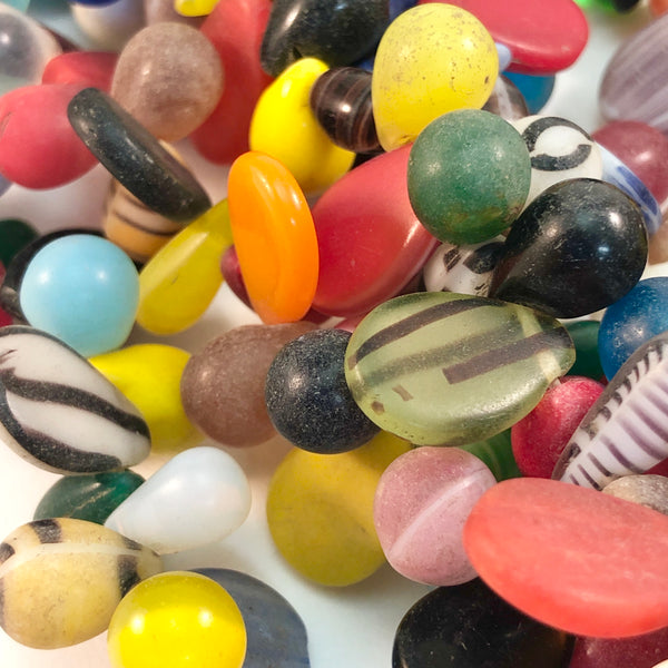 African Trade Beads - Mali Wedding Beads - Small Style