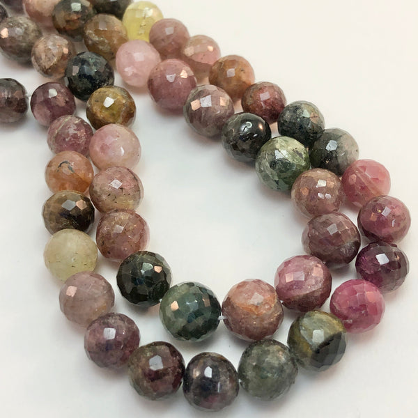Tourmaline - Round faceted 7-8mm