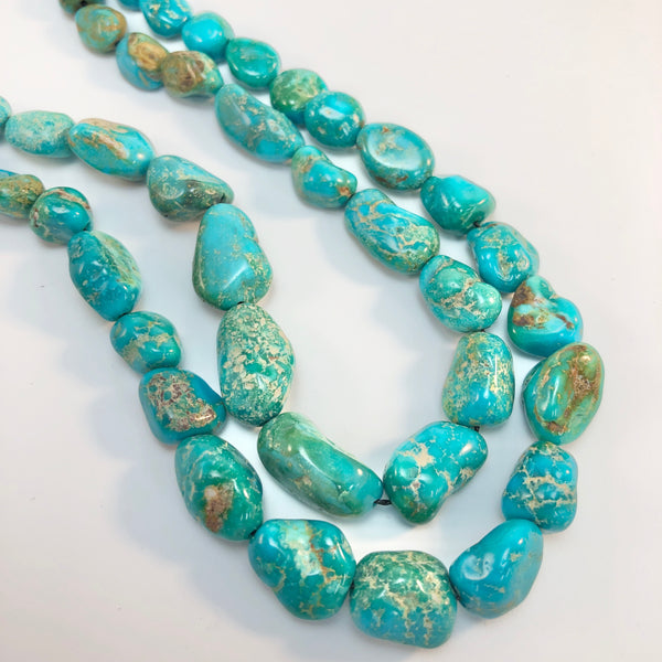 Turquoise - Turquoise Mountain Graduated Strand