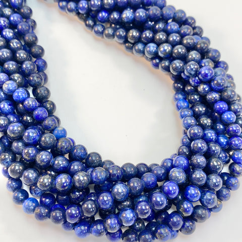 Lapis - 6mm round smooth