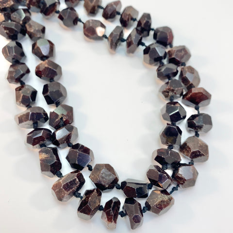 Garnet - Large Faceted Nuggets