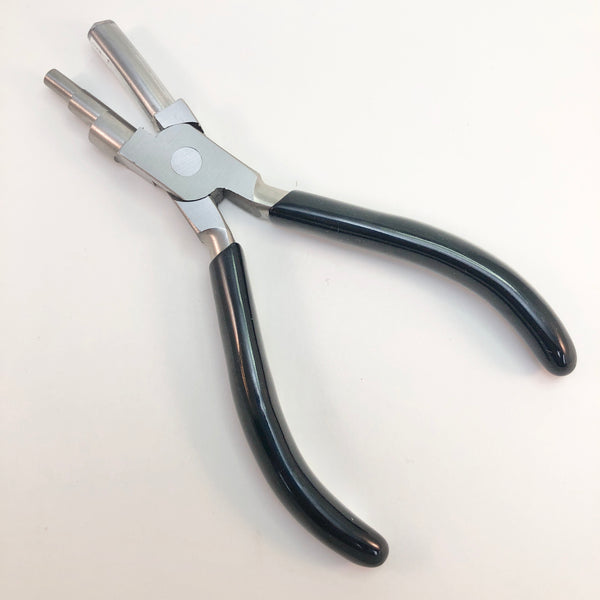 Multi-Step Wire Wrapping Pliers: Medium (5, 7, 10mm)