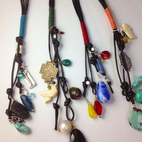 b3  Totem Tassel Necklace: Tuesday June 4,  2019 @ 1:30 - 4 pm
